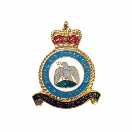 Royal Air Force RAF Station Kinloss Lapel Badge